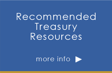 recommended treasury resources